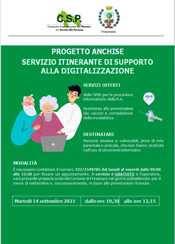 Progetto Anchise CSP Novi Ligure
